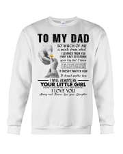 To My Dad I May Have Outgrown Your Lap Crewneck Sweatshirt thumbnail