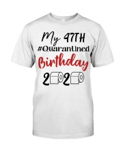 47th Birthday 47 Year Old Classic T-Shirt front