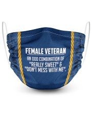AN ODD COMBINATION US NAVY 2 Layer Face Mask - Single front