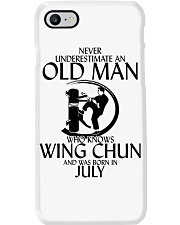 Never Underestimate Old Man Wing Chun July Phone Case thumbnail