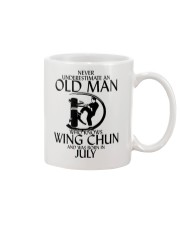 Never Underestimate Old Man Wing Chun July Mug thumbnail
