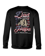 Being Papa Is Priceless Crewneck Sweatshirt thumbnail
