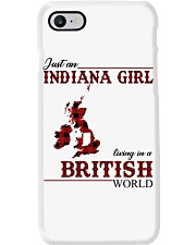 Just An Indiana Girl In British World Phone Case thumbnail