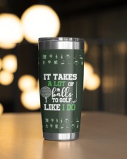 It takes a lot of balls to golf Christmas Gift 20oz Tumbler aos-20oz-tumbler-lifestyle-front-04