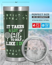It takes a lot of balls to golf Christmas Gift 20oz Tumbler aos-20oz-tumbler-lifestyle-front-47