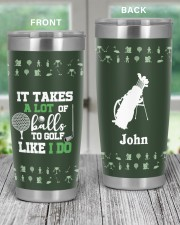 It takes a lot of balls to golf Christmas Gift 20oz Tumbler aos-20oz-tumbler-lifestyle-front-59