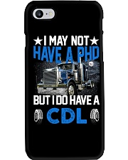 Trucker I May Not Have A PHD Phone Case tile
