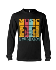 Music Is My Religion Long Sleeve Tee front