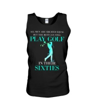 The Best Can Still Play Golf In Their Sixties Unisex Tank thumbnail