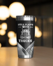 Still Plays With Trucks To my husband from wife 20oz Tumbler aos-20oz-tumbler-lifestyle-front-04