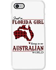 Just An Florida Girl In australian World Phone Case thumbnail
