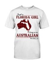 Just An Florida Girl In australian World Classic T-Shirt front