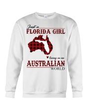 Just An Florida Girl In australian World Crewneck Sweatshirt thumbnail