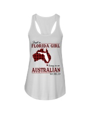 Just An Florida Girl In australian World Ladies Flowy Tank thumbnail