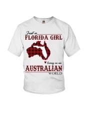 Just An Florida Girl In australian World Youth T-Shirt thumbnail