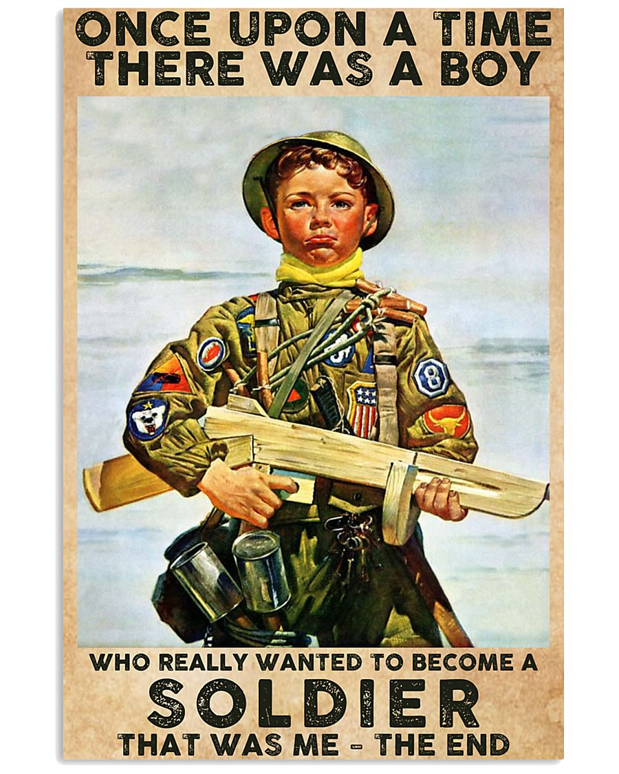 Once Upon A Time-Soldier 24x36 Poster
