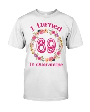 69th Birthday 69 Years Old Classic T-Shirt front
