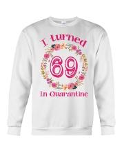 69th Birthday 69 Years Old Crewneck Sweatshirt thumbnail