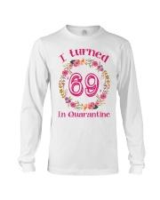 69th Birthday 69 Years Old Long Sleeve Tee thumbnail