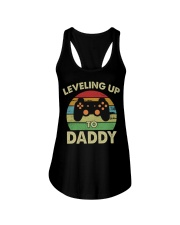 Leveling Up To Daddy Ladies Flowy Tank tile