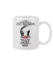 Never Underestimate Old Woman Golf May Mug thumbnail