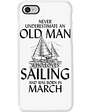 Never Underestimate Old Man Loves Sailing March Phone Case thumbnail