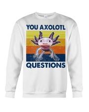 You Axolotl Questions Crewneck Sweatshirt thumbnail