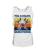 You Axolotl Questions Unisex Tank thumbnail