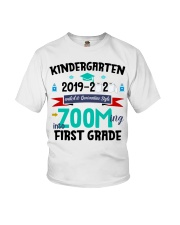 KINDERGARTEN ZOOMING INTO  FIRST GRADE Youth T-Shirt thumbnail