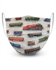 Train 3 Layer Face Mask - Single front
