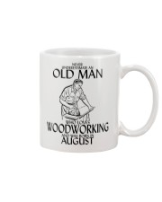Never Underestimate Old Man Woodworking August Mug thumbnail