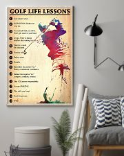 Golf life lessons 24x36 Poster lifestyle-poster-1