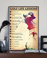 Golf life lessons 24x36 Poster lifestyle-poster-2