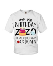 41st Birthday 41 Years Old Youth T-Shirt thumbnail