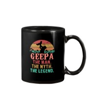 Geepa The man The Myth Mug tile