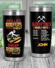 Roofers Aren't Cheap  Personalized 20oz Tumbler aos-20oz-tumbler-lifestyle-front-59