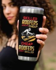 Roofers Aren't Cheap  Personalized 20oz Tumbler aos-20oz-tumbler-lifestyle-front-93