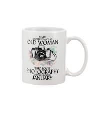 Never Underestimate Old Woman Photography January Mug thumbnail