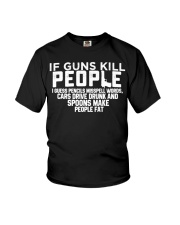 Guns Funny shirts Youth T-Shirt thumbnail