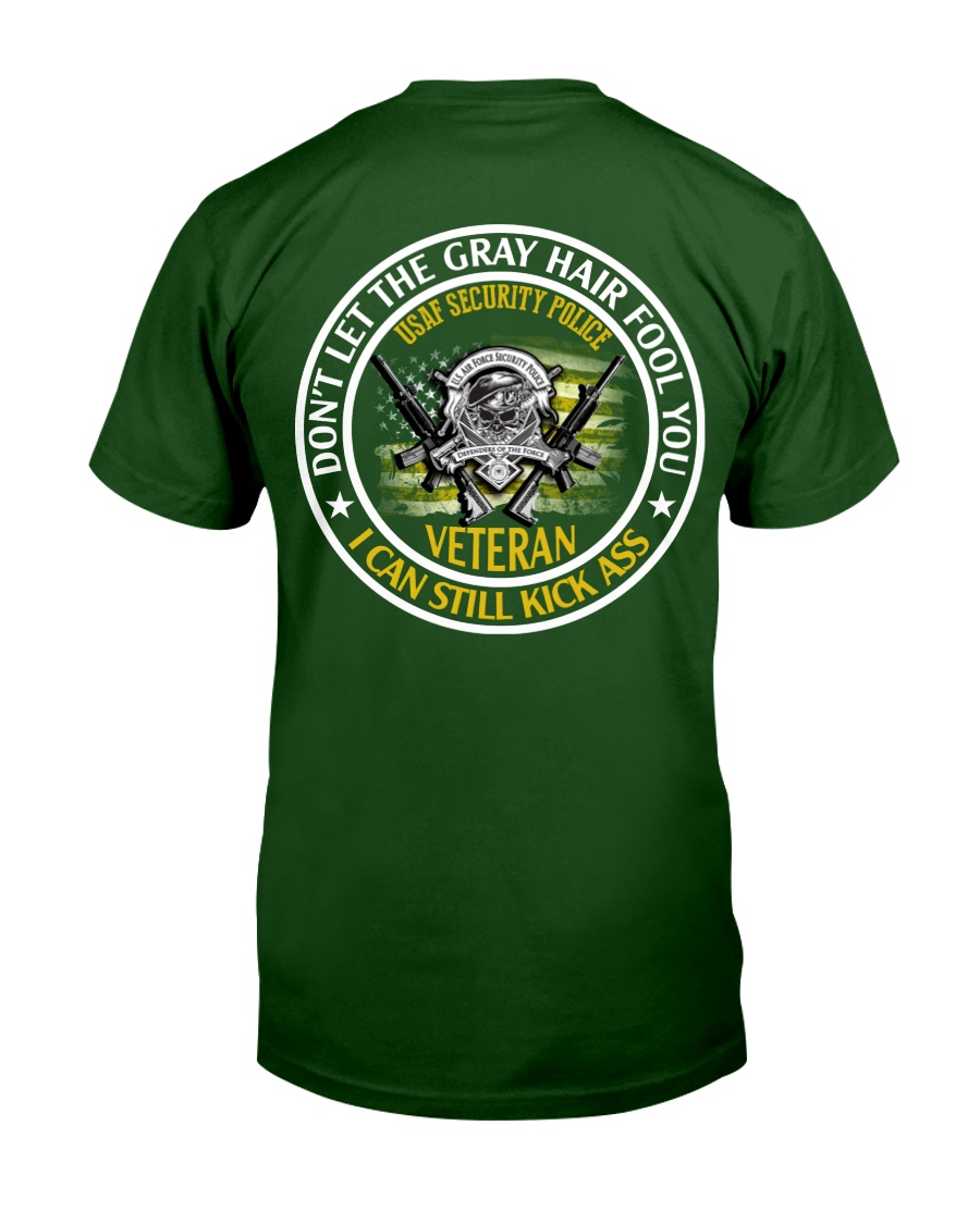 USAF Security Police - Gray Hair Classic T-Shirt