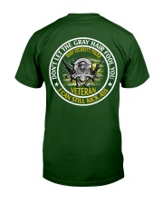 USAF Security Police - Gray Hair Classic T-Shirt back