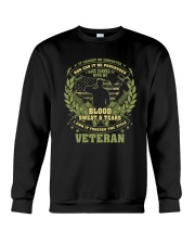 THE TITLE VETERAN Crewneck Sweatshirt thumbnail