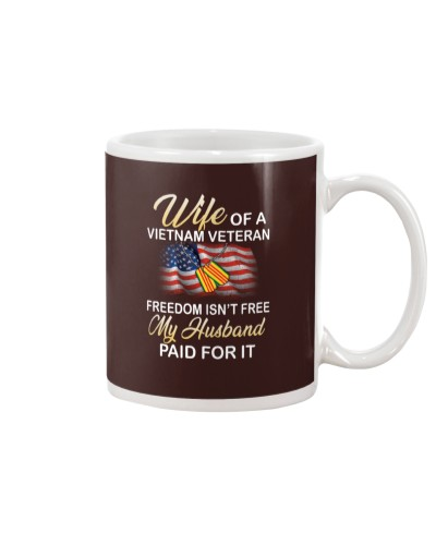 VIETNAM VET WIFE - MY HUSBAND PAID FOR IT