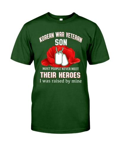 KOREAN WAR VETERAN SON