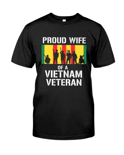 PROUD WIFE OF A VIETNAM VETERAN