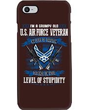 United States Air Force Veteran Phone Case thumbnail