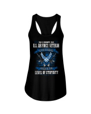 United States Air Force Veteran Ladies Flowy Tank thumbnail