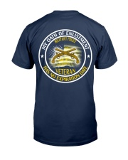 Military Police Oath Of Enlistment Classic T-Shirt back