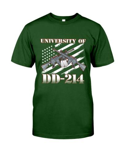 UNIVERSITY OF DD-214