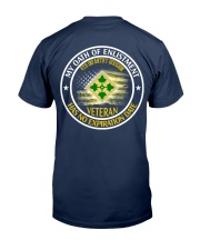 4th Infantry Division Oath Of Enlistment 2 Classic T-Shirt back